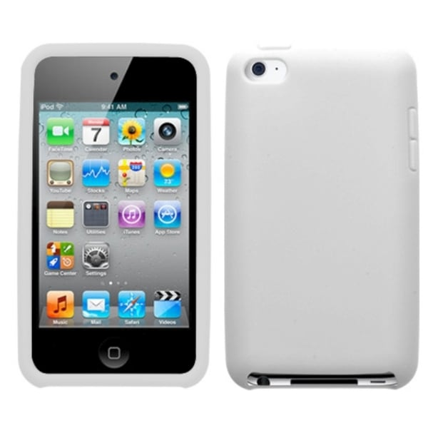 INSTEN White iPod Case Cover for Apple iPod Touch 4