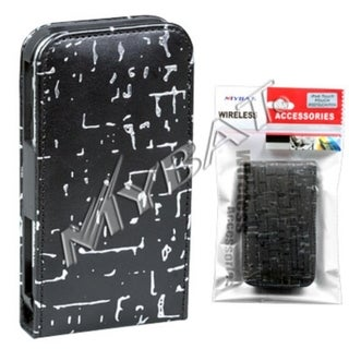 INSTEN Black Vertical Pouch for Apple iPod Touch 1