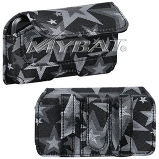 BasAcc Gray/ Black Star Horizontal Pouch for Apple iPod Touch 2/ 3/ 4
