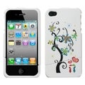 BasAcc Lovers Tree Toon Slash Case for Apple iPhone 4/ 4S