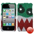 BasAcc Nomnom Monster Diamante Case for Apple iPhone 4/ 4S