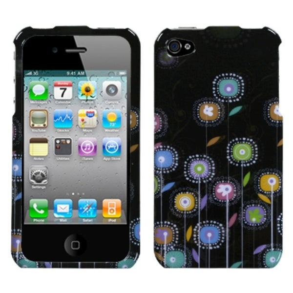 INSTEN Lollipop Flowers Phone Case Cover for Apple iPhone 4/ 4S