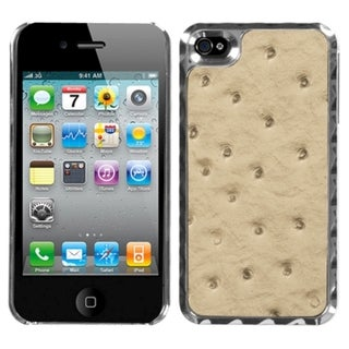BasAcc Sandy Brown Silver Plating Alloy Case for Apple iPhone 4/ 4S
