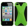 BasAcc Natural Pearl Green / Black Dual X Case for Apple iPhone 4/ 4S