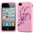 BasAcc Spring Flowers/ Pink Pastel Skin Case for Apple iPhone 4/ 4S