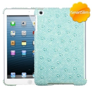 BasAcc Baby Blue Pearl Diamante SmartSlim Case for Apple iPad Mini