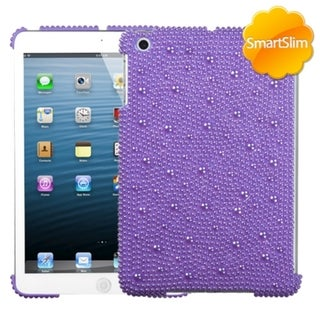 BasAcc Baby Purple Pearl Diamante SmartSlim Case for Apple iPad Mini