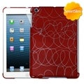 BasAcc Curved Lines Red SmartSlim Case for Apple iPad Mini