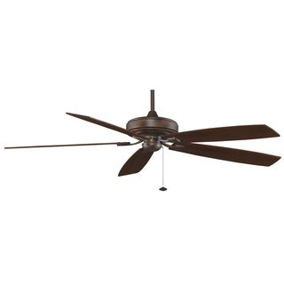 Fanimation Edgewood Supreme 72-inch Reversible Walnut Ceiling Fan
