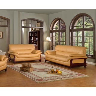 Kalina Bonded Leather 2-piece Modern Set