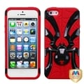 BasAcc Black/ Red Spiderbite Hybrid Case For Apple� iPhone 5