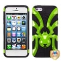 BasAcc Pearl Green/ Black Spiderbite Hybrid Case For Apple iPhone 5