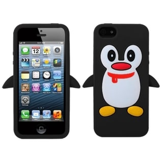 BasAcc Black Penguin Pastel Skin Case For Apple� iPhone 5