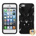 BasAcc Black/ Black Spiderbite Hybrid Case For Apple� iPhone 5