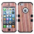 BasAcc Vertical Stripes/ Black Tuff Hybrid Case For Apple� iPhone 5