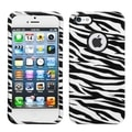 BasAcc Zebra Skin Protector Case For Apple� iPhone 5
