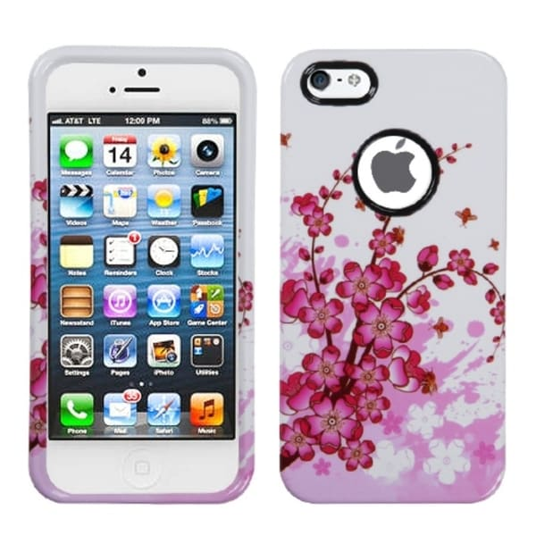 BasAcc Spring Flowers Protector Case For Apple® iPhone 5