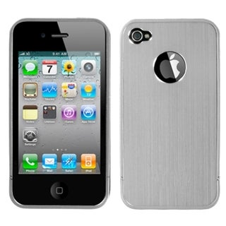 BasAcc Silver Ironside Shield with Chrome Case for Apple iPhone 4/ 4S