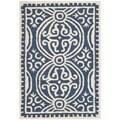 Safavieh Handmade Cambridge Moroccan Navy Oriental Wool Rug (2' x 3')