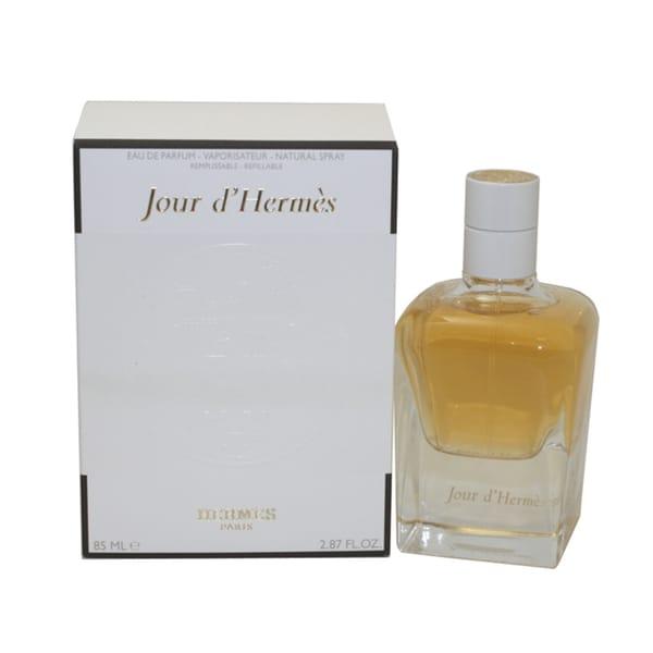 Hermes Jour d'Hermes Women's 2.87-ounce Eau de Parfum Refillable Spray