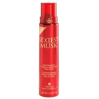 Prince Matchabelli Sexiest Musk Women's 2.5-ounce Fragrance Body Spray