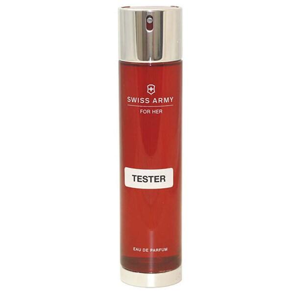 Victorinox 'Swiss Army for Her' Women's 3.4-ounce Eau de Parfum Spray (Tester)
