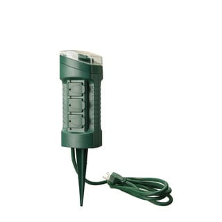 6 Outlet Power Stake Timer