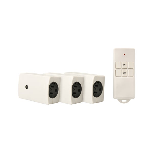 Coleman Cable Indoor Wireless Remote, 3-Pack