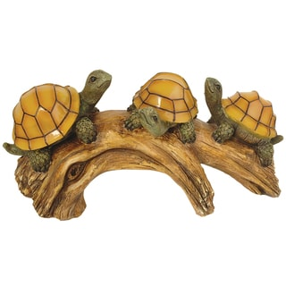 Turtle Log Solar Lights
