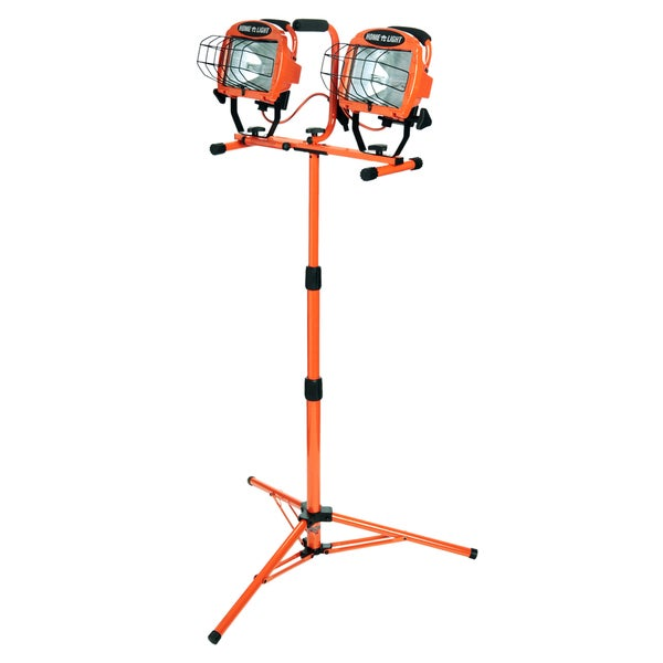 1000W Hal.Twin Head Tripod Light