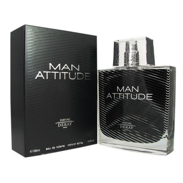 Deray Man Attitude Men's 3.4-ounce Eau de Toilette Spray