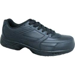 Genuine Grip Footwear Steel Toe Jogger Black Leather