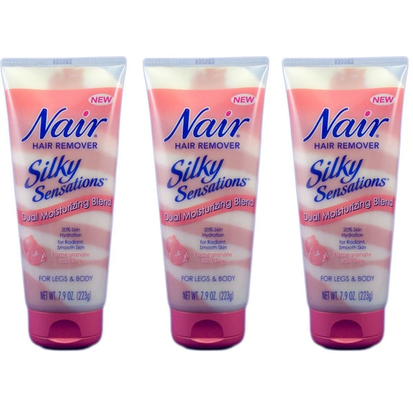Nair Silky Sensation Pomegranate & Soy Hair Removal (Pack of 3)