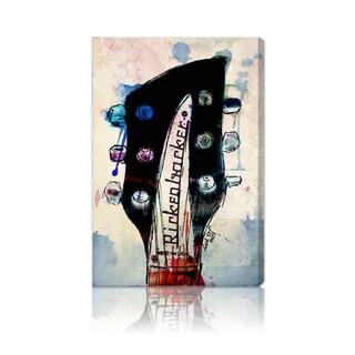 'Rickenbacker Headstock' Fine Art Canvas