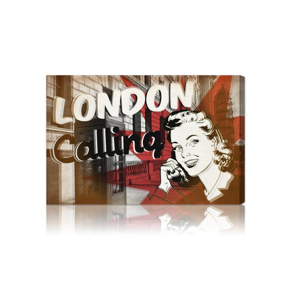'London Calling' Fine Art Canvas