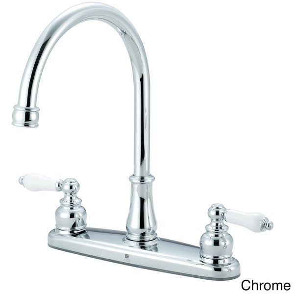 Pioneer Brentwood Series Two-Handle Lead-Free Kitchen Faucet