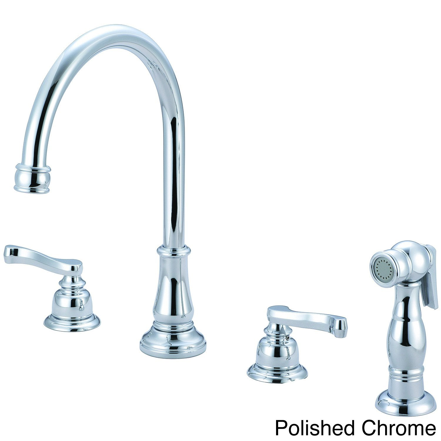 pioneer brentwood series two handle kitchen widespread