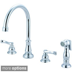 Pioneer Brentwood Series Two-handle Kitchen Widespread Faucet