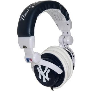 iHip DJ Style Headphones NY Yankees