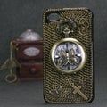 BasAcc Butterfly Pocket Watch 3D Diamante Case for Apple iPhone 4/ 4S