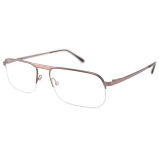 Tom Ford Readers Men's TF5168 Semi-Rimless Reading Glasses with Plastic Frame