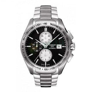 Tissot Men's 'Veloci-T' Black Automatic Watch