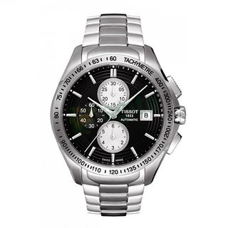 Tissot Men's T0244271105100 'Veloci-T' Black Automatic Watch