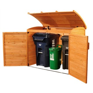 Horizontal Refuse Storage Shed