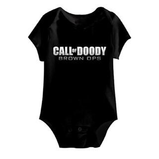 Call of Doody Brown Ops Baby Bodysuit