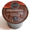 Tully's Coffee Hawaiian Blend 96 K-Cups