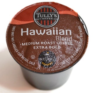 Tully's Coffee Hawaiian Blend K-Cups (48 count)