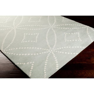 Hand-tufted Harlequin Grey Area Rug (8' x 10')