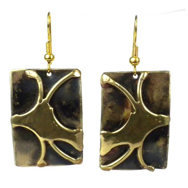 Handcrafted Burst of Energy Earrings (South Africa)