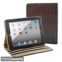 Dasein Fashion Matte Croco iPad 2 Compatible Case